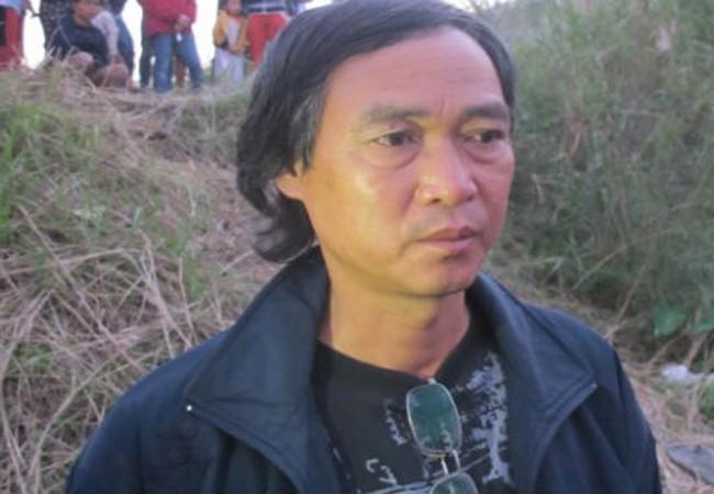 Ông Phạm Đức Quang, cậu nạn nhân.
