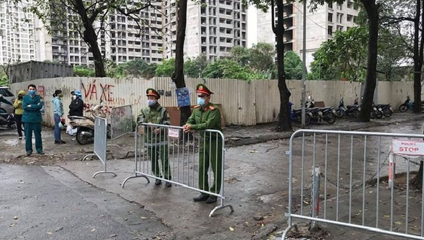 Công an sẵn sàng phương án bảo đảm an ninh 2 khu cách ly mới ở Hà Nội