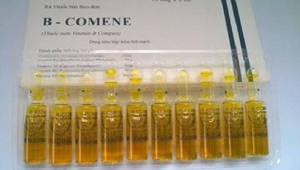 Thu hồi toàn quốc thuốc viên nang cứng Chloramphenicol 250 mg và Thuốc tiêm B-Comene do không đảm bảo chất lượng