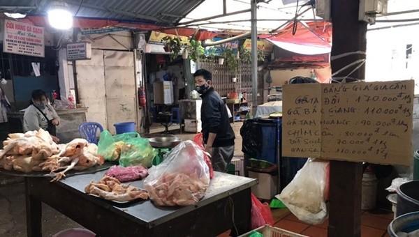 Quận Ba Đình đảm bảo nhu cầu thực phẩm thiết yếu cho người dân