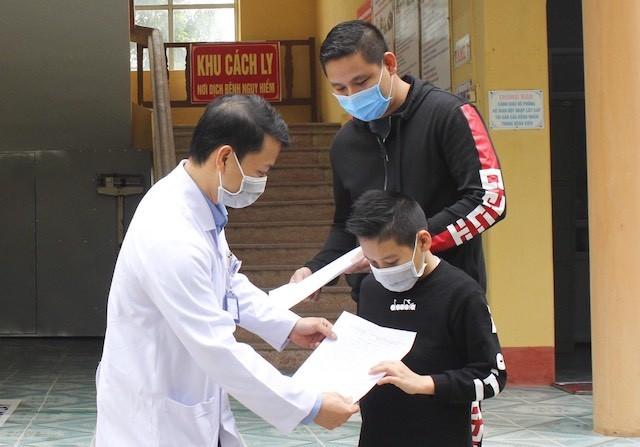 Bệnh nhân Nam, 11 tuổi, quốc tịch Anh nhiễm Covid-19 đã được công bố khỏi bệnh
