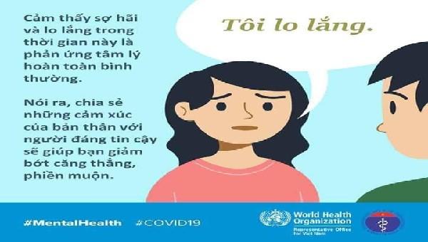 Inforgraphic: Các cách giảm thiểu lo lắng trong mùa dịch Covid-19