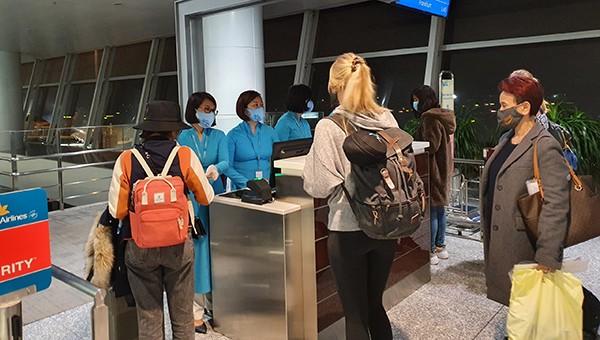 Vietnam Airlines vận chuyển công dân Đức, Liên minh châu Âu hồi hương