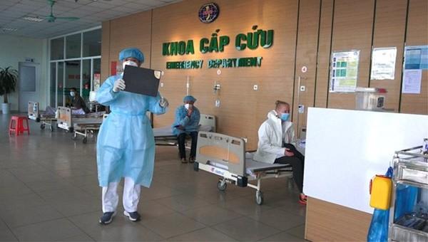 Khoa cấp cứu Bệnh viện Nhiệt đới Trung ương.