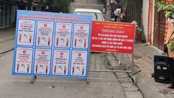 Siết chặt kiểm tra vi phạm phòng dịch bệnh, tăng cường vệ sinh môi trường tại Hà Nội