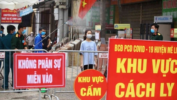 Hải Phòng: Cách ly tập trung đối với tất cả những người từ Bắc Ninh, chợ hoa Mê Linh về