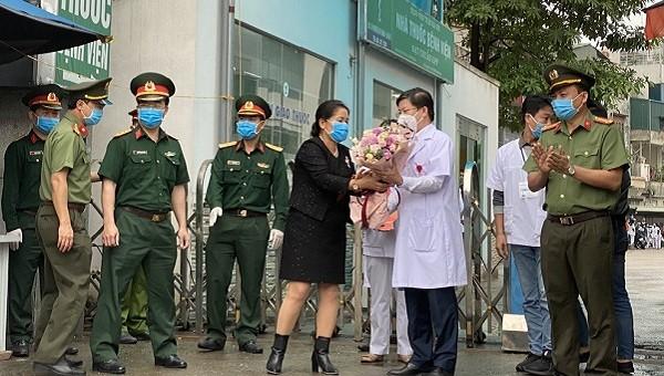 Từ 24/4 Bệnh viện Thận Hà Nội chính thức kết thúc cách ly y tế.