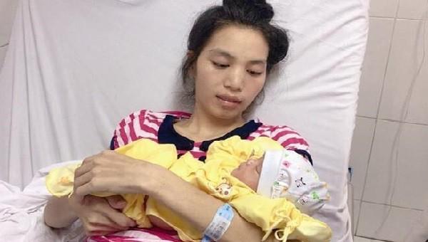 Thai phụ Lù Thị Trình đã vượt qua cơn nguy kịch Ảnh: BVCC