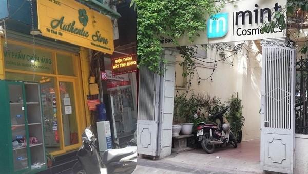 """Hà Nội: Chuỗi cửa hàng mỹ phẩm ngang nhiên bán hàng """"lậu"""", cơ quan chức năng ở đâu?"""