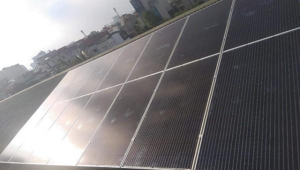 Trường học đầu tiên ở Hà Nội được hỗ trợ công trình điện mặt trời mái nhà