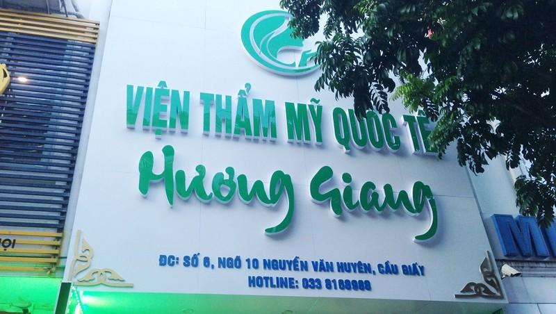 """Hà Nội: """"Vạch trần"""" cơ sở làm răng """"đội lốt"""" Viện thẩm mỹ quốc tế Hương Giang"""