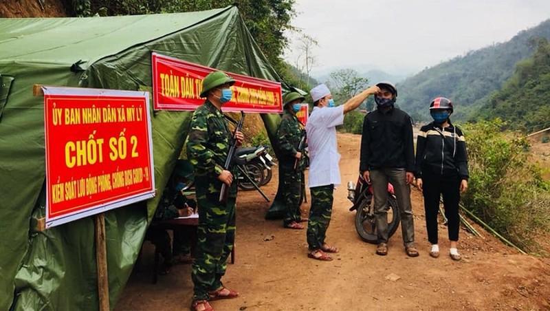 Lập 8 đoàn kiểm tra phòng, chống dịch Covid-19 trên các tuyến biên giới