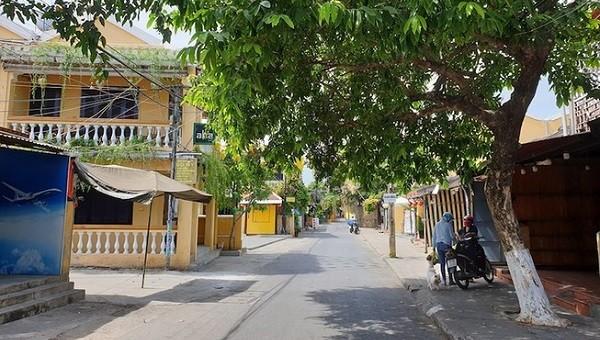 Thêm 5 huyện, thị xã của Quảng Nam thực hiện cách ly xã hội. Ảnh: Plo