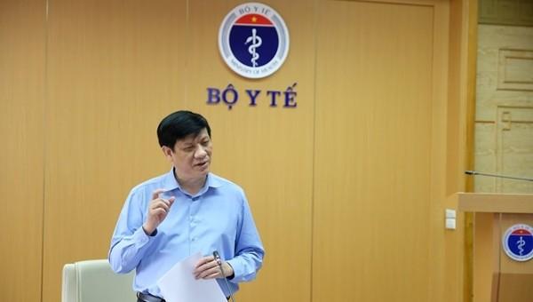 GS.TS Nguyễn Thanh Long - Quyền Bộ trưởng Bộ Y tế (Ảnh: Trần Minh)