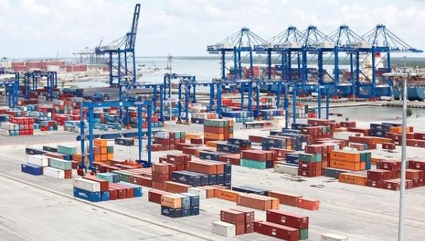 Dịch vụ kho bãi của Tổng Công ty Tân cảng Sài Gòn. Ảnh: saigonnewport.com.vn