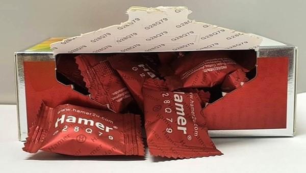 Kẹo sâm chứa chất kích dục bày bán tràn lan trên mạng