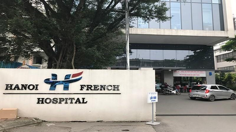 Bệnh viện Việt Pháp nơi xảy ra sự việc.