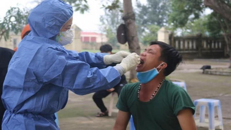 46 F1 liên quan đến bệnh nhân tái dương tính ở Quảng Bình đều âm tính lần 1