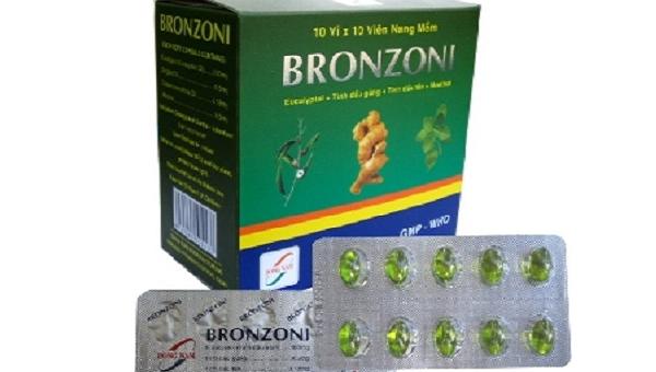 Viên nang mềm Bronzoni bị thu hồi. Ảnh: SKĐS