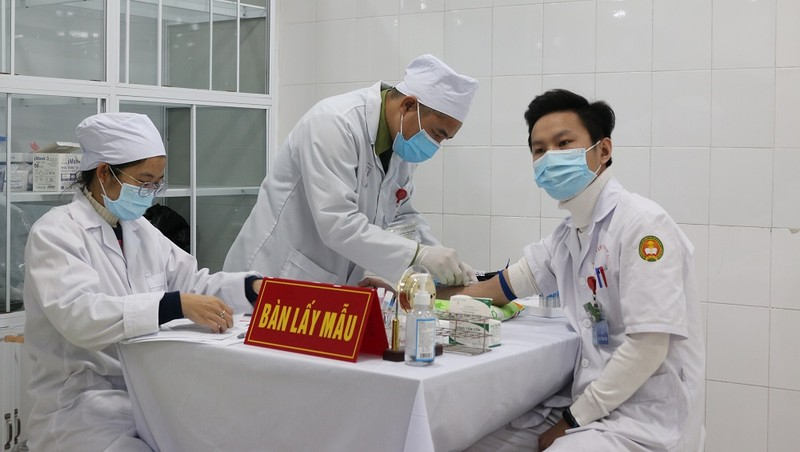 Sáng mai (14/1) dự kiến tiêm mũi 2 vắc xin Nanocovax