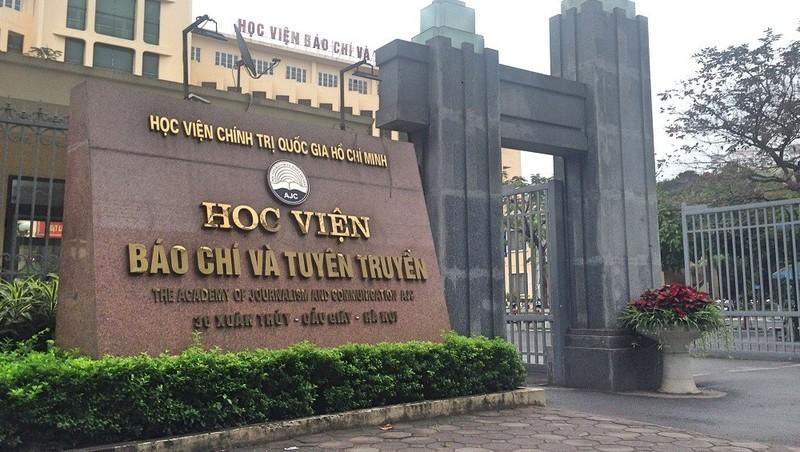 Học viện Báo chí và Tuyên truyền ra thông báo khẩn
