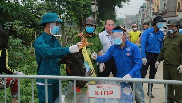Liên quan đến ca dương tính tại Hải Dương, 2 trường hợp F1 tại Hưng Yên đã âm tính