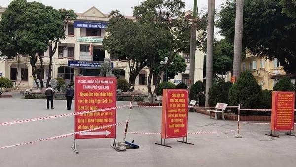 Bệnh viện dã chiến Chí Linh sẵn sàng tiếp nhận bệnh nhân dương tính Covid-19 trong chiều nay