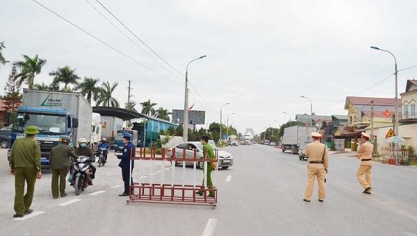 Quảng Ninh chính thức phong tỏa xã Bình Dương