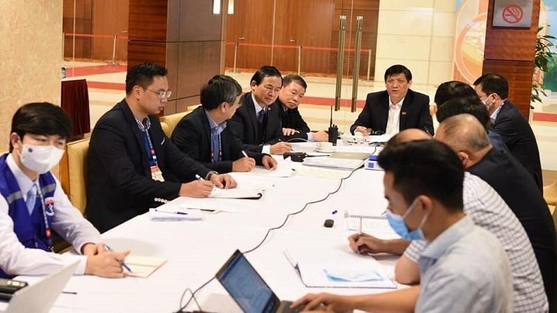 Cuộc họp Thường trực Chính phủ chiều ngày 29/1/2020.
