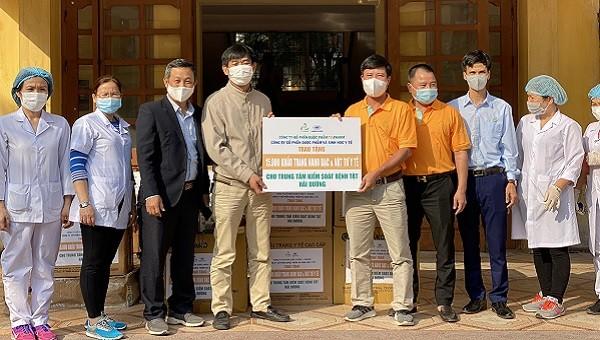 Dược phẩm TV.Pharm khởi động năm mới 2021 bằng nhiều thiện hạnh ý nghĩa tại Hải Dương, Sơn La, Lào Cai