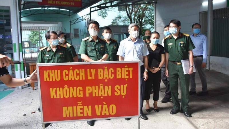 Bệnh viện Quân Y 175: Sẵn sàng thu dung, điều trị bệnh nhân COVID-19 tại TP HCM