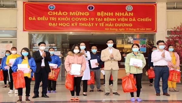 Tin vui sáng 30 Tết: 27 bệnh nhân Covid-19 tại Hải Dương được công bố khỏi bệnh