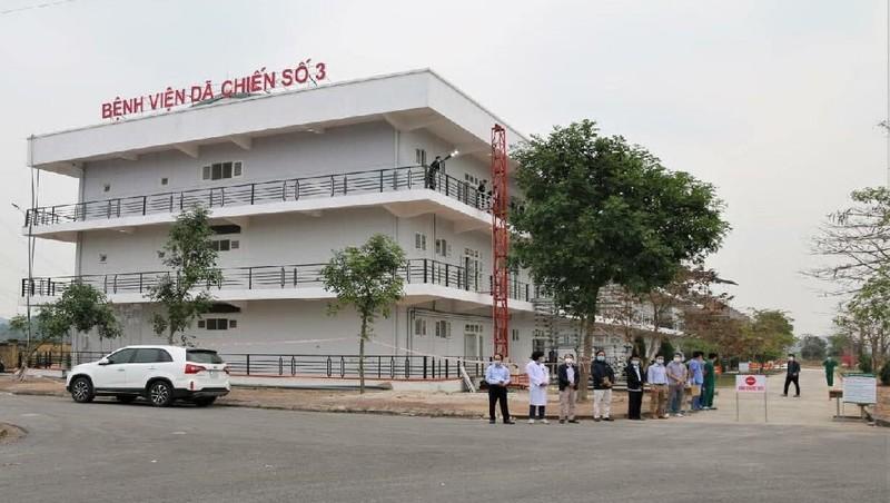 Bệnh viện Dã chiến số 3 của Hải Dương với hơn 200 giường bệnh sẵn sàng hoạt động