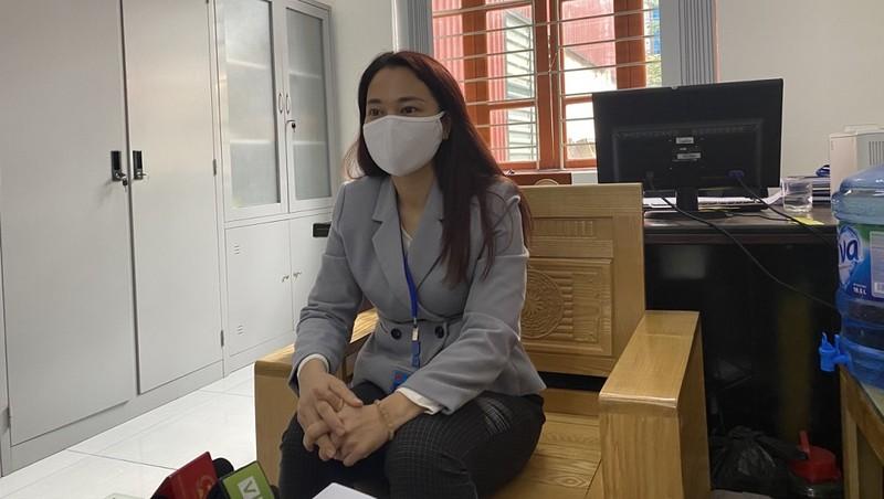 Bà Nguyễn Minh Hạnh - Phó Chủ tịch UBND phường Hà Cầu.