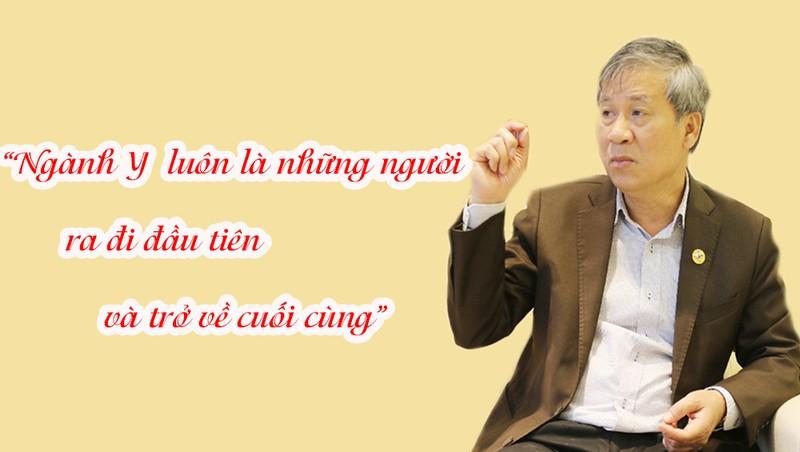 """Anh hùng lao động – GS.TS Nguyễn Anh Trí: """"Thầy thuốc luôn là những người đi đầu và trở về cuối cùng"""""""