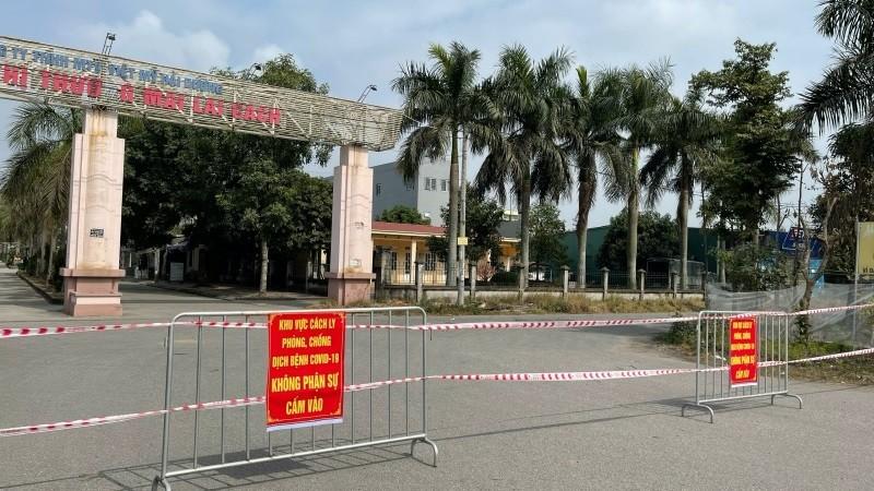 Những thôn, xóm nào của huyện Cẩm Giàng tiếp tục phong toả cách ly?