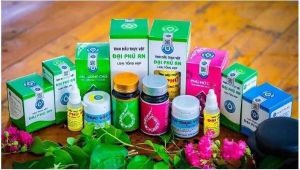 Sản phẩm của Công ty Nam dược Đại Phú An.
