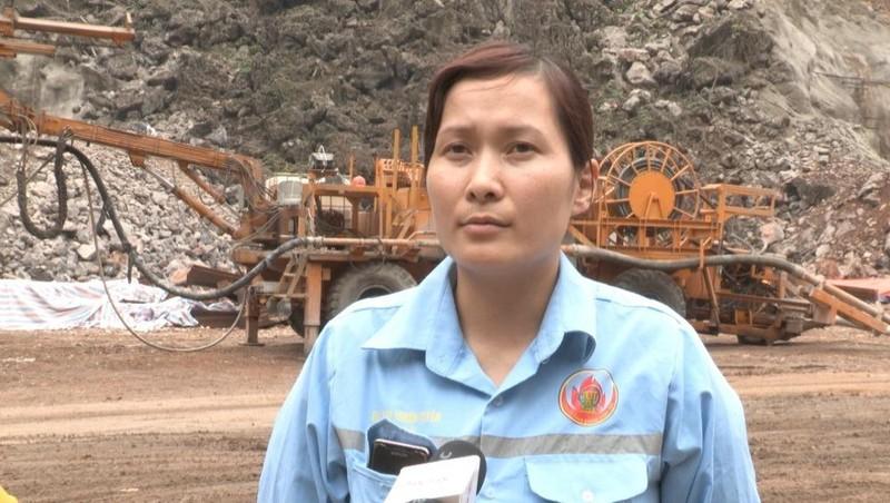Bà Tường Thị Hà, con gái bà Phạm Thị Nhẫn