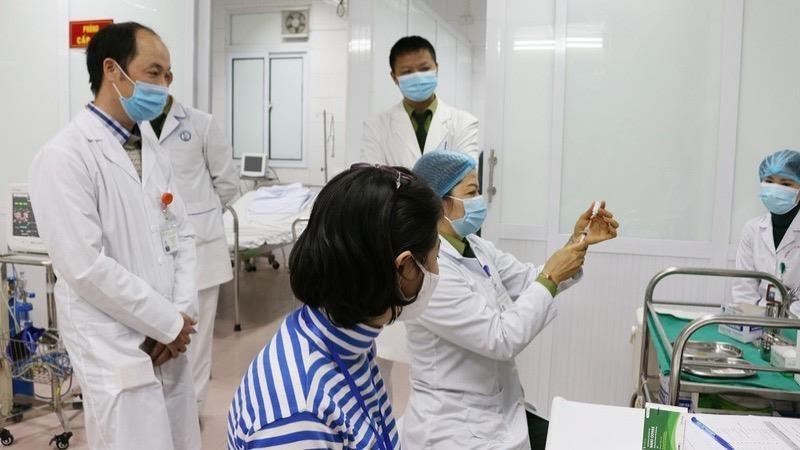 Việt Nam tiến hành thử nghiệm vắc xin ngừa COVID-19. Ảnh: Ngọc Nga