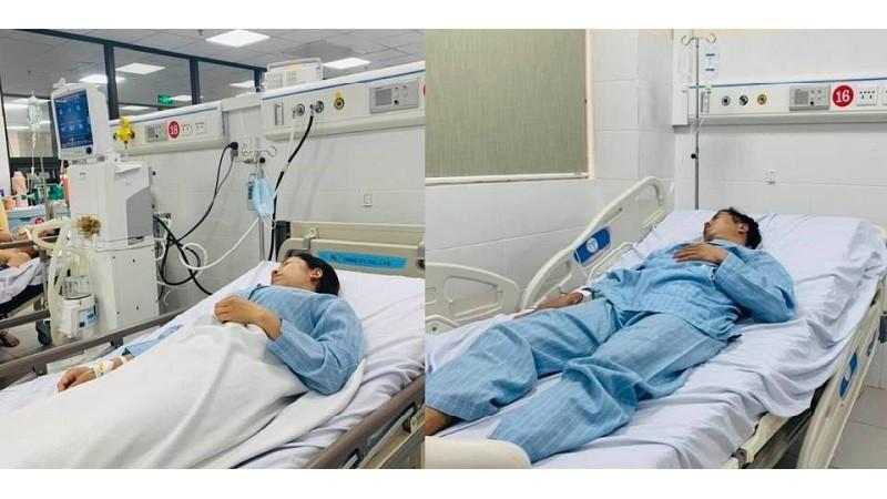 Các bệnh nhân đang điều trị tại BVĐK tỉnh Hòa Bình. Ảnh: BVCC