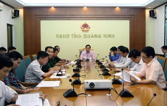 Quảng Ninh gấp rút hoàn thành công tác phòng chống bão Mirinae