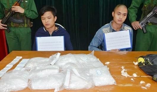 Quảng Ninh: Bắt 2 đối tượng mang theo 5 kg ma túy
