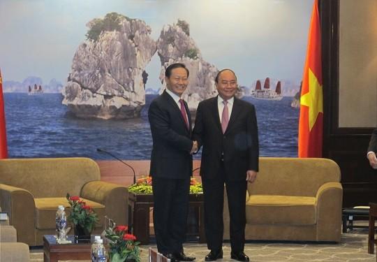 Thủ tướng mong muốn thúc đẩy hợp tác 4 tỉnh biên giới Việt Nam với Quảng Tây, Trung Quốc