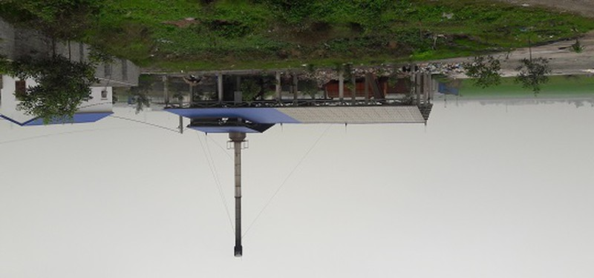 Lò đốt rác của Công ty Hoàng Kim Long