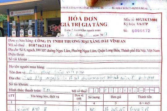 Hà Nội: Doanh nghiệp ngang nhiên kinh doanh xăng dầu không giấy phép