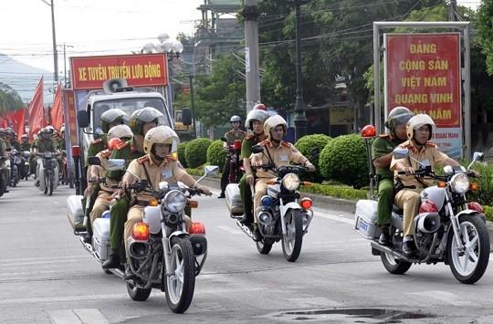 Quảng Ninh mở đợt cao điểm tấn công trấn áp tội phạm dịp Tết