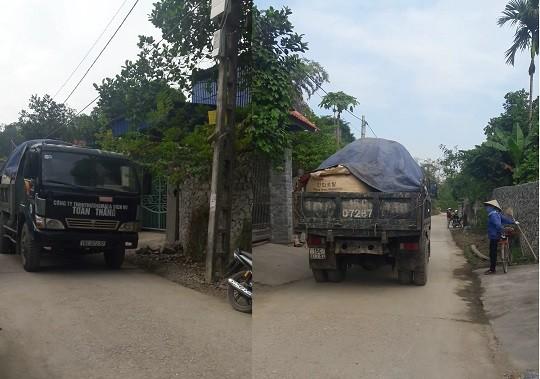 """Hải Phòng: Dân """"nháo nhác"""" vì xe chở rác nguy hại chung đường dân sinh"""