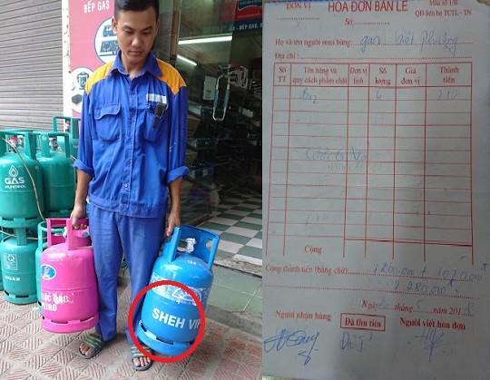 """Quảng Ninh: Cán bộ quản lý thị trường dừng xe """"không đúng quy trình"""", lộ diện doanh nghiệp bán gas chui"""
