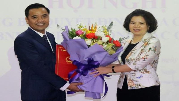 Phó Bí thư Thường trực Huyện ủy Tiên Du giữ chức Phó Giám đốc Sở Tài nguyên và Môi trường Bắc Ninh