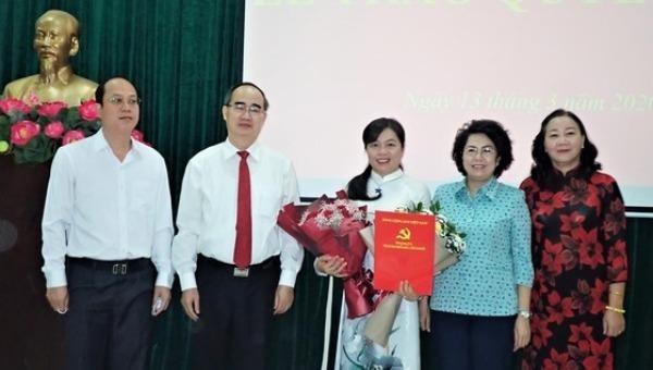 Hội Liên hiệp Phụ nữ TP HCM có tân Chủ tịch